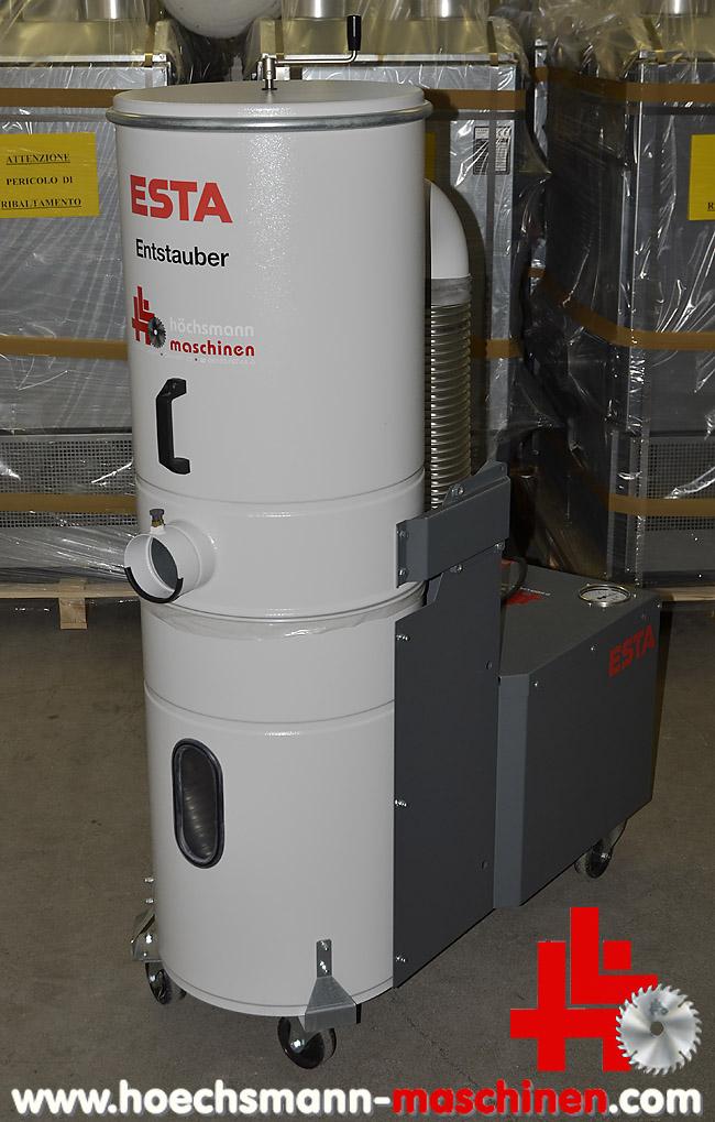 Geliebte ESTA Absaugung Mobil Dustomat HMS-10 DN fahrbar gebraucht von #ES_31