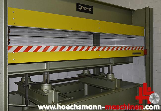 joos furnierpresse hp 80 gebraucht von hoechsmann. Black Bedroom Furniture Sets. Home Design Ideas