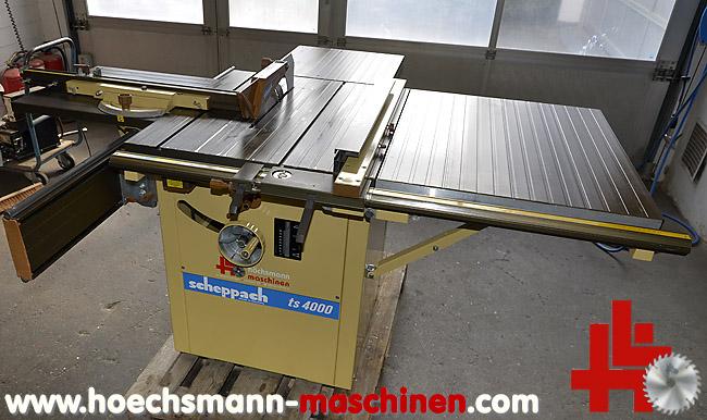 scheppach tischkreiss ge ts 4000 gebraucht von hoechsmann maschinen holzbearbeitungsmaschinen. Black Bedroom Furniture Sets. Home Design Ideas