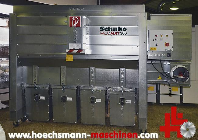 Gemeinsame SCHUKO Absauganlage Vacomat 300 gebraucht von hoechsmann maschinen #JZ_58