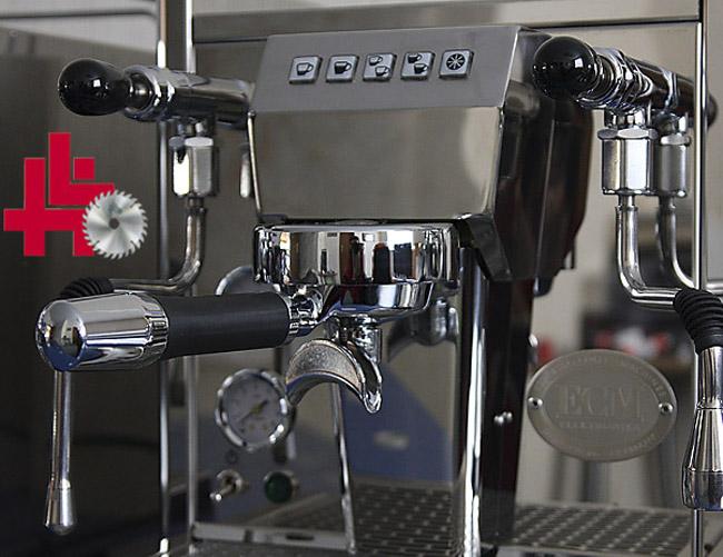 ecm espresso cappuchino kaffeemaschine kaffeeautomat elektronika profi ebay. Black Bedroom Furniture Sets. Home Design Ideas